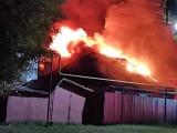 В Урмарском районе полицейский вывел из горящего дома целую семью