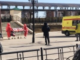 На вокзале Чебоксар эвакуировали пациента с подозрением на коронавирус