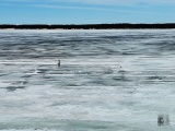В Чувашии будут штрафовать за выезд на лед в неположенных местах